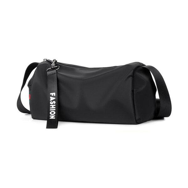 Whatna 3wayミニショルダーバッグ メンズ レディース ボディーバッグ 胸バッグ ショルダーミニポーチ ナイロン元の画像